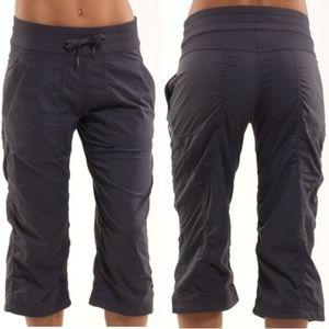 Lululemon Studio Crop Pants Coal Gray